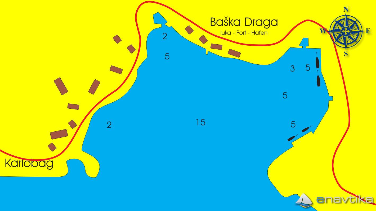 Slika Baška draga 2