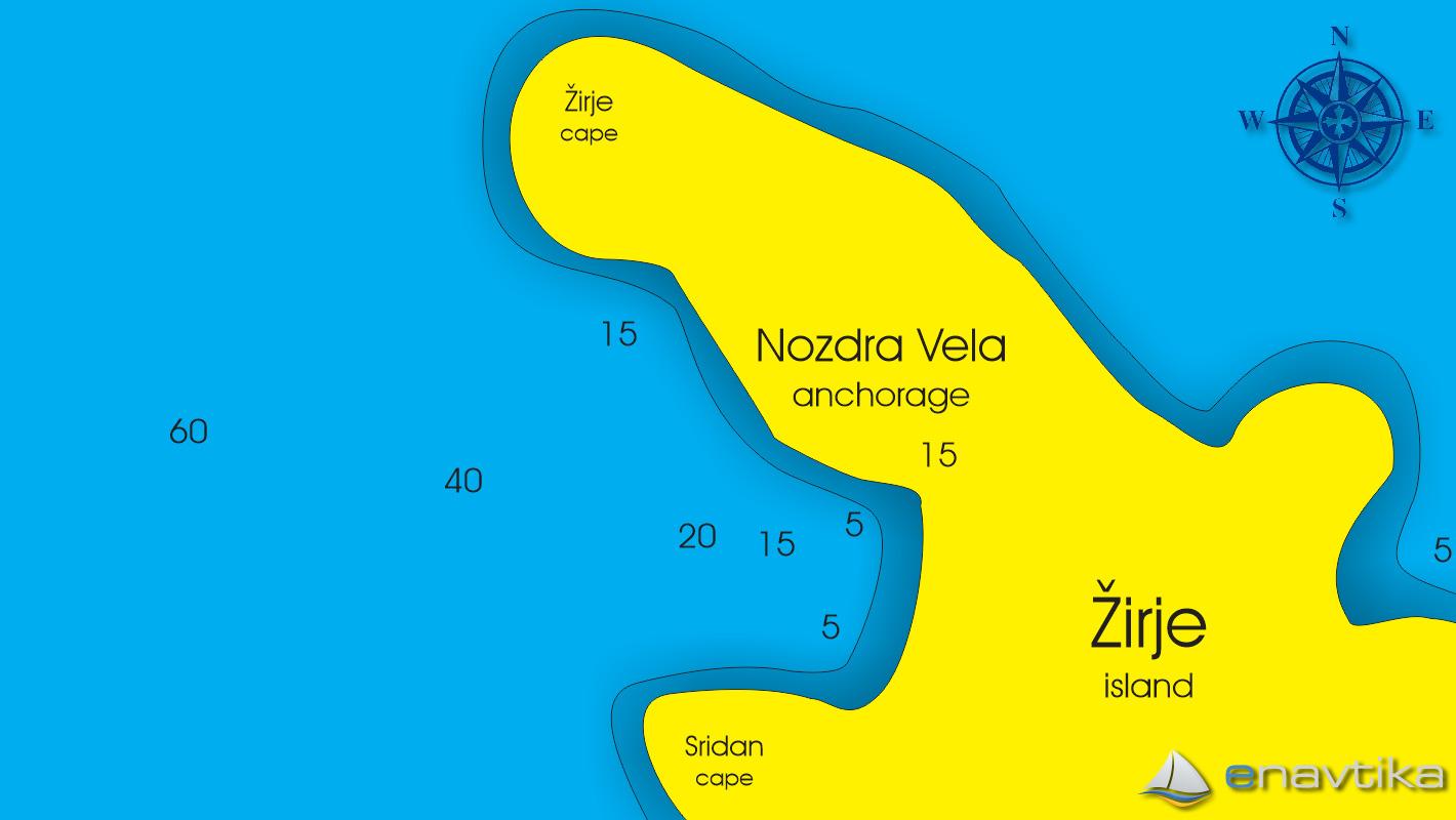 Slika Nozdra Vela Žirje 2