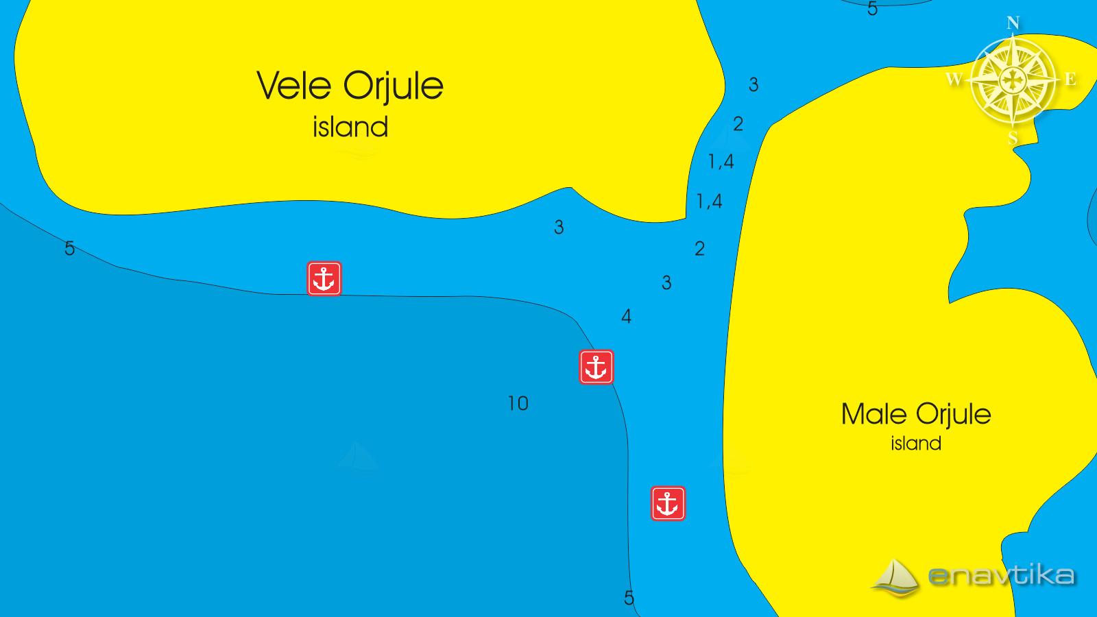 Slika Vele-Male Orjule Passage 2