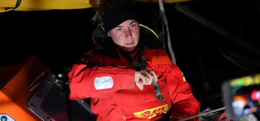 Sisue Goodall - Golden Globe Race